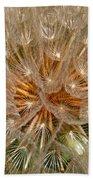 Dandelion Seed Head Bath Towel
