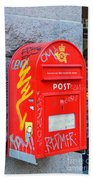Danish Mailbox Bath Towel