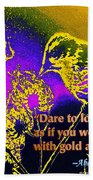 Dare To Love Yourself Hand Towel