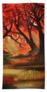 Dark Forest Bath Towel