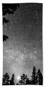 Dark Stellar Universe Bath Towel