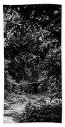 Dark Summer Woods Bath Towel
