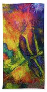 Darling Darker Dragonfly Bath Towel