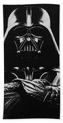 Darth Vader Bath Towel by Don Medina