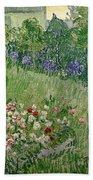 Daubigny's Garden Bath Towel