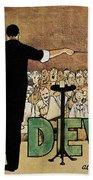 David Devant Poster C1910 Bath Towel