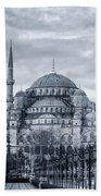 Dawn At The Blue Mosque Hand Towel