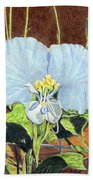 Day Flower Hand Towel