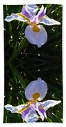 Day Lily Reflection Bath Towel