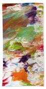 Days Gone By- Abstract Art By Linda Woods Hand Towel