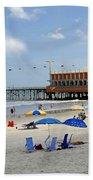 Daytona Beach Pier Bath Towel