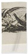 Dead Duck, Jacob Elias Van Varelen, After Jacob De Gheyn II, 1821 Hand Towel