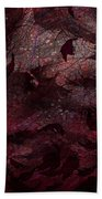 Dead Leaves Bath Towel