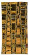 Dead Tree Abstract Bath Towel