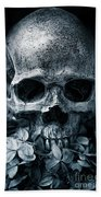 Death Comes To Us All Bath Towel