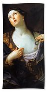Death Of Cleopatra 1598 Bath Towel