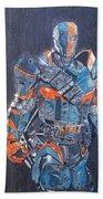 Deathstroke Illustration Art Bath Towel