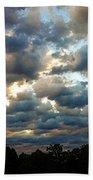 Deceptive Clouds Bath Towel