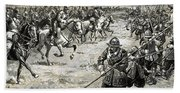 Decisive Battles  Where King Charles Lost His Crown Bath Towel