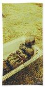 Decomposition Of A Murder Mystery Bath Towel