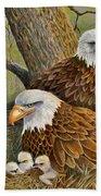 Decorah Eagle Family Hand Towel