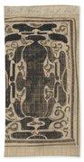 Decorative Design, Carel Adolph Lion Cachet, 1874 - 1945 Bath Towel
