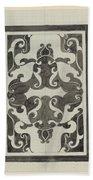 Decorative Design, Carel Adolph Lion Cachet, 1874 - 1945 Jd Hand Towel