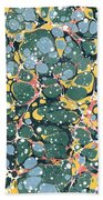 Decorative Endpaper Bath Towel