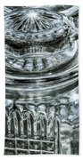 Decorative Glass Jars Bath Towel