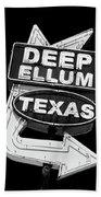 Deep Ellum Texas Bath Towel