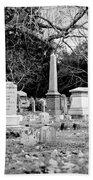 Deep Within Evergreen Cemetery Bath Towel