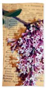 Defining Lilacs Bath Towel