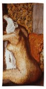 Degas: After The Bath Bath Towel