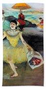 Degas: Dancer, 1878 Bath Towel