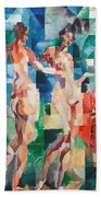 Delaunay: City Of Paris Bath Towel