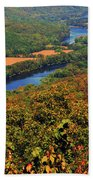 Delaware River From The Appalachian Trail Bath Towel