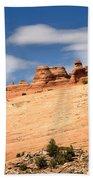Delicate Arch Famous Landmark In Arches National Park Utah Bath Towel