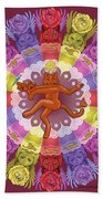 Deluxe Tribute To Tuko - Maroon Background Hand Towel