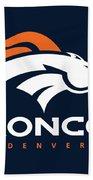 Denver Broncos Nfl Bath Towel