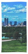 Denver City Park Bath Towel