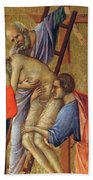 Descent From The Cross Fragment 1311 Bath Towel