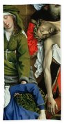 Descent From The Cross Bath Towel