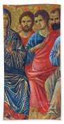 Descent Of The Holy Spirit Upon The Apostles Fragment 1311 Bath Towel