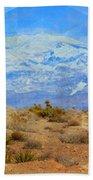 Desert Contrasts Bath Towel by Michelle Dallocchio