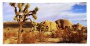Desert Landscape Bath Towel