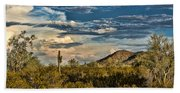 Desert Sky - San Tan Arizona Bath Towel