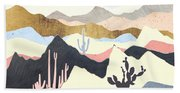 Desert Summer Bath Towel