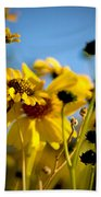 Desert Sunflower Variations Bath Towel
