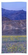 Desert Wildflowers, Death Valley Bath Towel