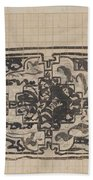 Design For A Binding For Charivaria, Carel Adolph Lion Cachet, 1874 - 1945 Bath Towel